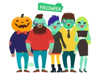 Hipster zombies!