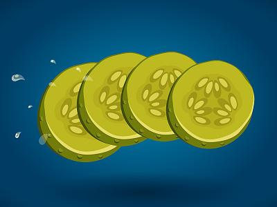 Frame of McDonald's Triple Cheeseburger Animation cheeseburger mcdonalds cucumber frame animation illustration