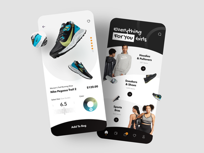 Sportswear Shop App Details mobile app mobile ui ios ui ux shopping app ecommerce app design reebok nike adidas gym sportswear sport