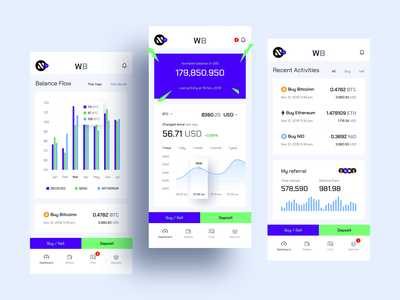 Cryptocurrency Exchange Mobile App app clean ios sketch design ui ux exchanger mobile app exchange cryptocurrency crypto