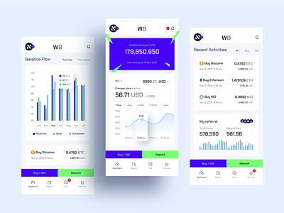 Cryptocurrency Exchange Mobile App app clean ios sketch design ui ux exchanger mobile app exchange cryptocurrency crypto