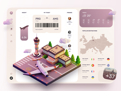 Book Private Flights Dashboard concept design design ui ux illustration sketch tickets plane flight search dashboard ui private jet flight booking booking book