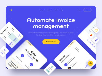 Invoice Management Platform mastercard visa clean website sketch personal finance money budget finances invoice design ui ux