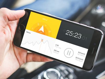 Gps Tracker - Mobile app app design interface design ux mobile design responsive design ios design mobile application design ui design gps tracker gps tracker place