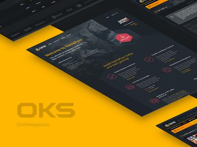 E-commerce - onlinekeystore game portal portal games onlinekeystore oks game product page online shop e-commerce