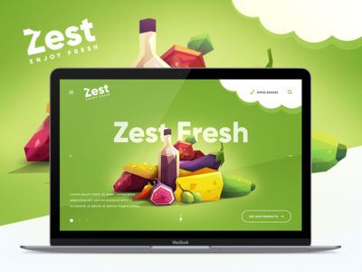 Design of Landing Page and Branding