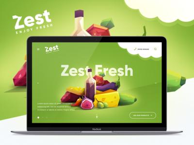 Design of Landing Page and Branding  van branding van business cards branding fruit branding concept fruits landing landing page