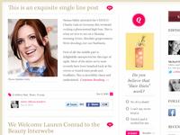 Lock Mane Blog Redesign