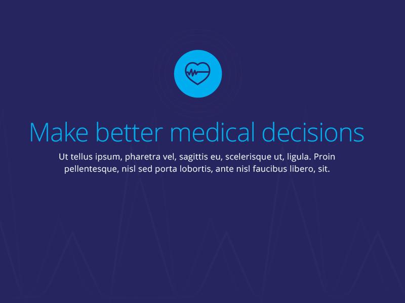 Quant HC Website freshthrills medical health website startup