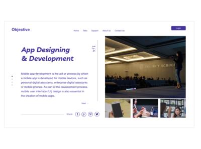 App Designing & Development Talk
