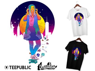Rainbow Skate