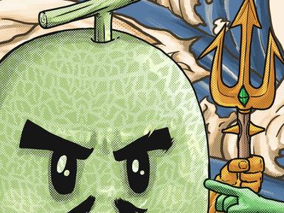 aquamelon detailing art
