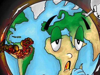 detailing save amazon save earth stop global warming
