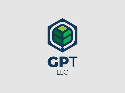 GP Transport natural plant leaf company transport logo logotype design design branding brand logotipo logotype