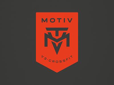 MOTIV Crossfit crossfit logo fitness logo gym fitness crossfit logotype design montevideo grmn logotype logo branding brand badge logo