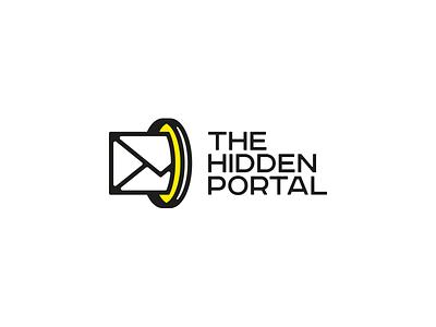 The Hidden Portal mailbox mail mailing digital illustration brand design logotype grmn branding brand vector isotype logo