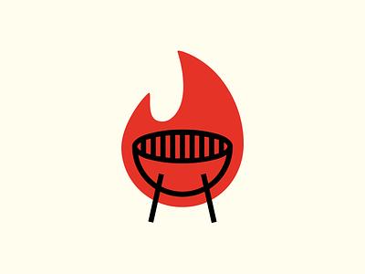 Grill Tiger recipe food site brand design grmn logotipo symbol icon branding brand mark isotipo grill fire symbol isotype logotype logo