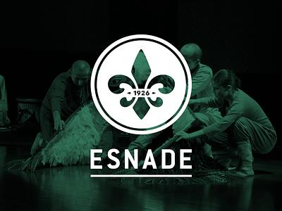 ESNADE · Escuela Nacional de Declamación brand web ui design grmn montevideo uruguay