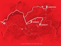 Singletrack Switzerland Interactive Map