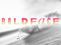 Baldface: The Temple of Snowboarding Logo
