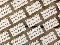 Olaus.Co Business Cards