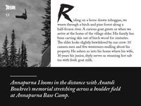 Jackson Hole Snowboarder Magazine Design Elements