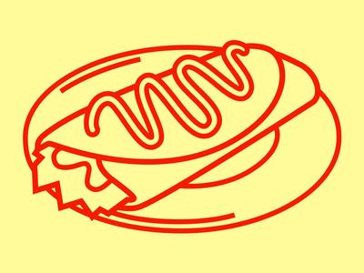 Enchilada Icon icon iconography noun project spicy mexican taco burrito enchilada food western vector illustration