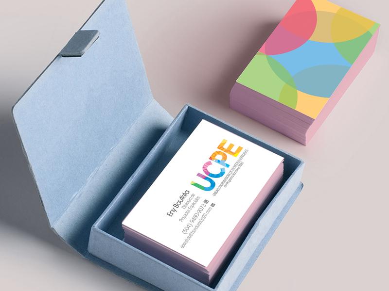 Business Card UCPE branding
