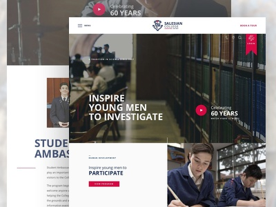 Salesian College course college education website school