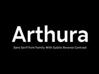 Arthura Typeface