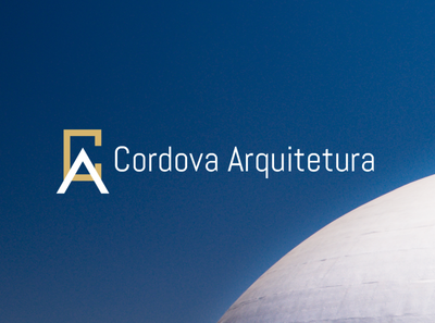 Cordova Arquitetura modern architecture logodesign brand