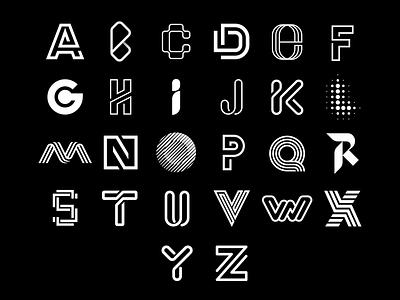26 best lettermarks from the collection logotype monogram brandmark typography logos logomark logodesign logo brandlogo lettermarkexploration lettermarklogo
