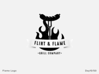 Flint & Flame - Day 10 - Daily Logo Challenge