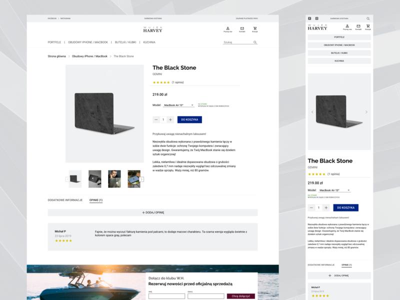 Design Store Ecommerce Product Page By Agata Zawadzka On Dribbble
