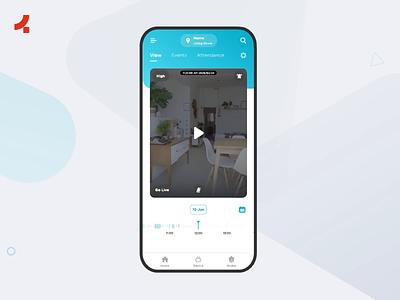 Qubo | Onething Design onething uxui ux ui design smart home app smarthome app design app uidesign ui ux design ux