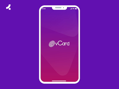 vCard App | Onething Design interaction appdesign app finance uidesign uxdesign uxui ui ux