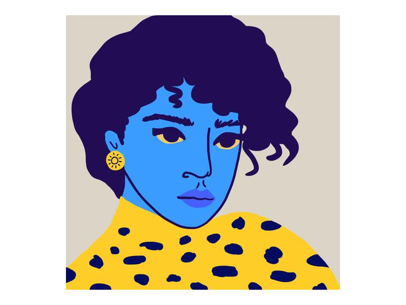 Portrait woman color woman portrait portrait art illustration woman artwork digitalart artist drawing