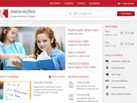 Public library website