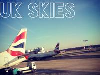 UK skies