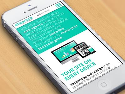 AltaSartoria mobile website rwd web design responsive web design