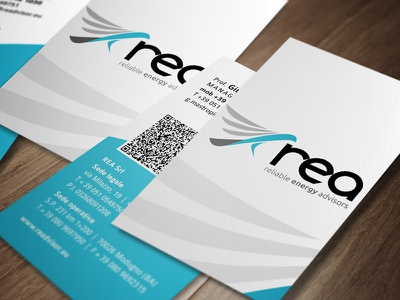 REA business cards business cards