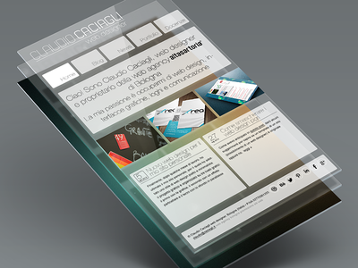 Personal website's project