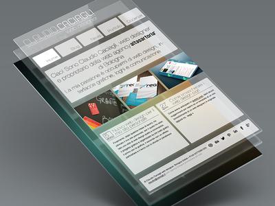 Personal website's project web design rwd responsive web design