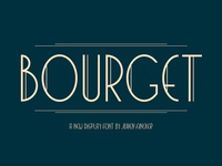 Bourget Typeface