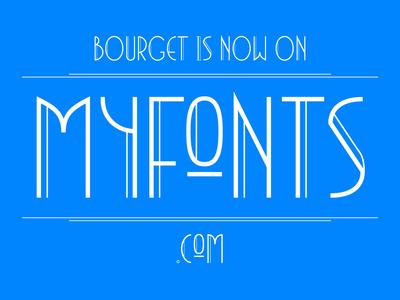 Bourget at Myfonts typeface headline graphic typography typedesign type font editorial display design branding artdeco