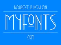 Bourget at Myfonts