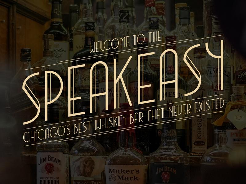 Speakeasy display typeface headline artdeco editorial branding signage design graphic fontdesign typography type typedesign font