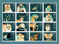 Stamp design for endangered species