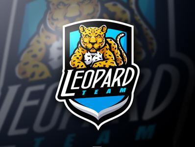 Leopard Mascot Logo