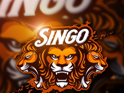 Singo Mascot Logo